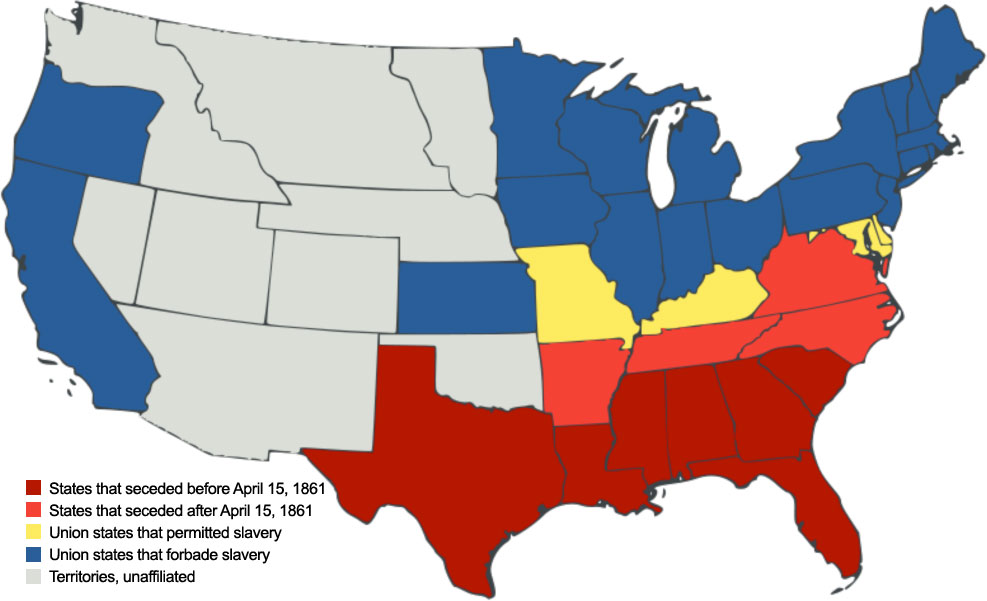 map of state succession united states