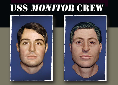 Monitor sailors faces revealed