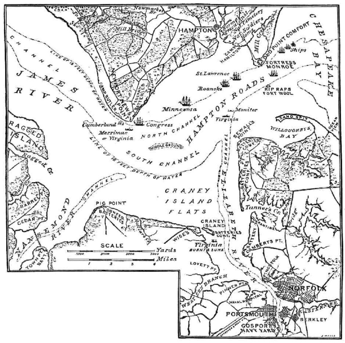 monitor 150th anniversary battle of h ton roads Magazine Racks click here