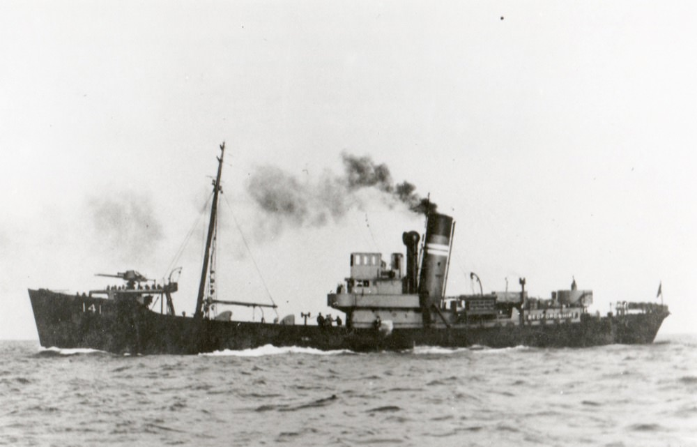 Port side view of HMT Bedfordshire